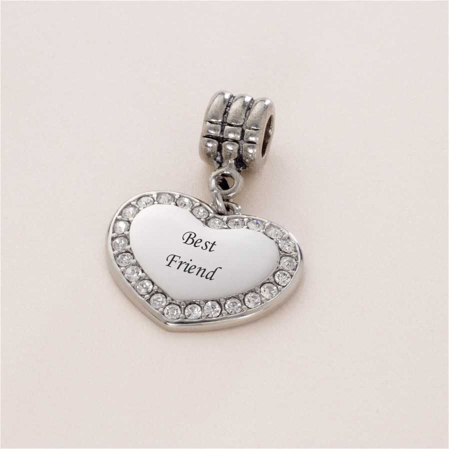 Best Friend Charm Bracelet: Best Friend Bracelet Charm