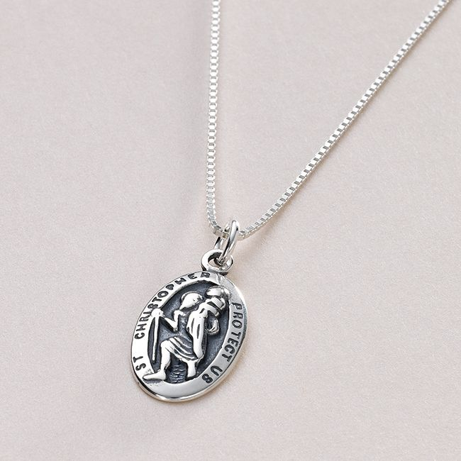 christopher engraved necklace charming engraving