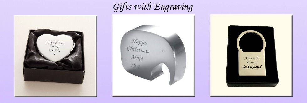 Gifts with Engraving