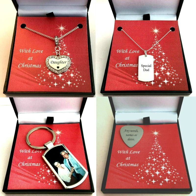 Engraved Christmas Jewellery