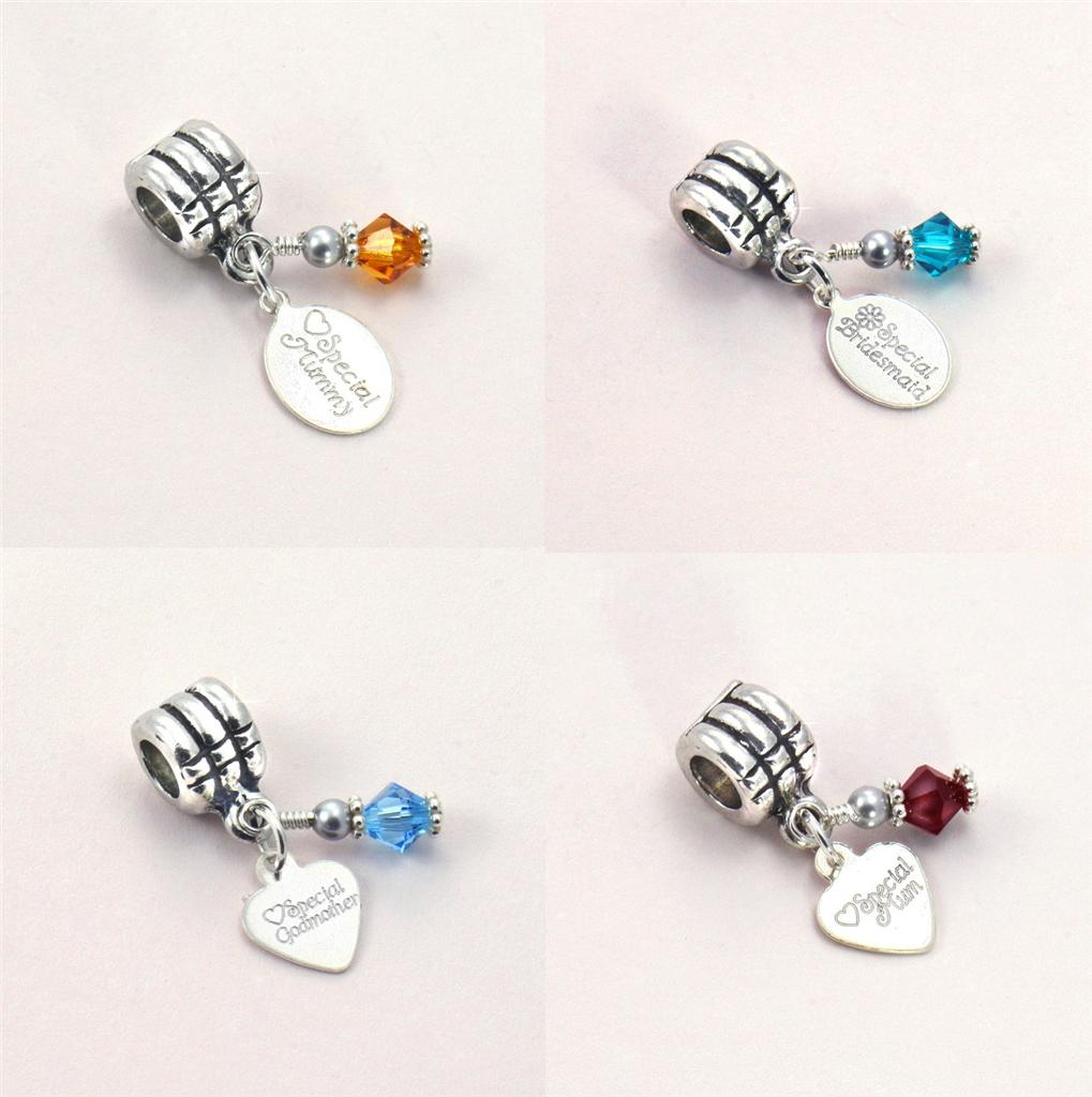 Birthstone charm with sterling silver engraved tag fits pandora birthstone charm with sterling silver engraved tag fits pandora charming engraving aloadofball Gallery