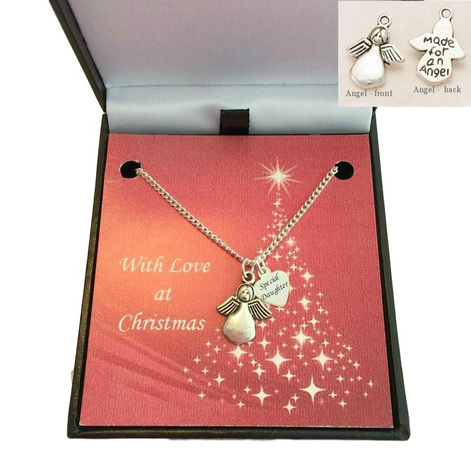 Someone Special etc Optional Gift Box for Daughter Sister Birthstone Necklace