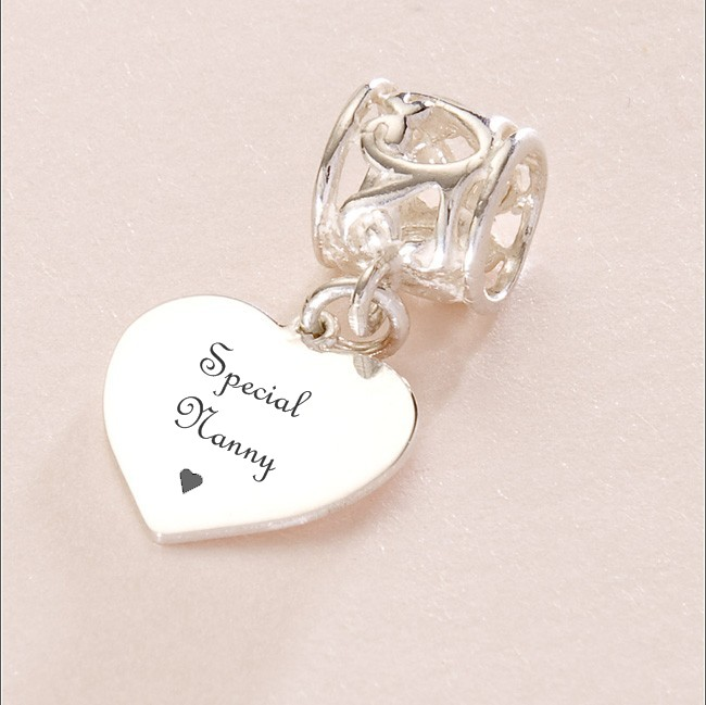 c8c273fa2 Special Nanny Charm Sterling Silver fits Pandora