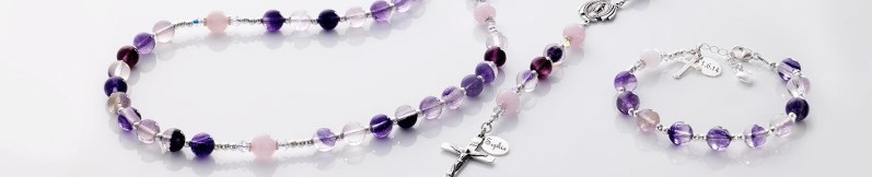 Personalised Rosary Beads