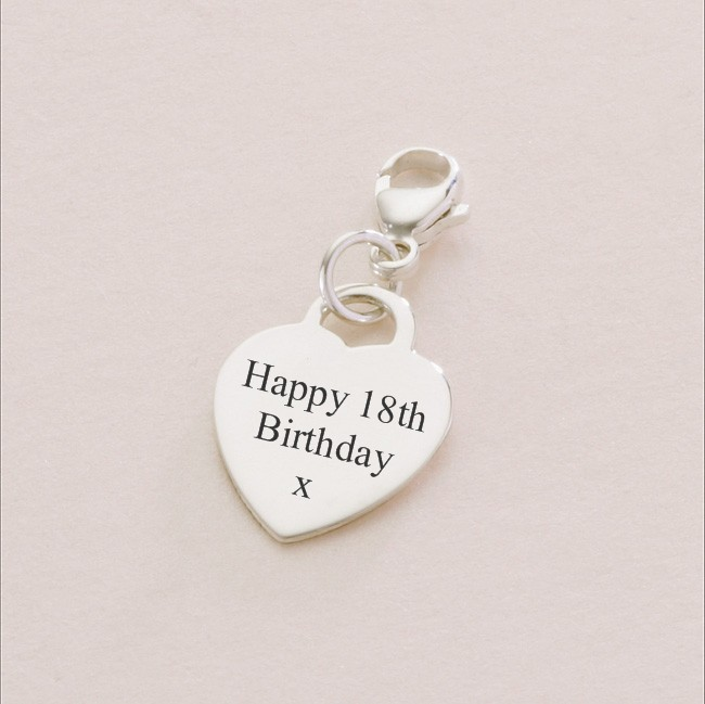 Silver Birthday Charms