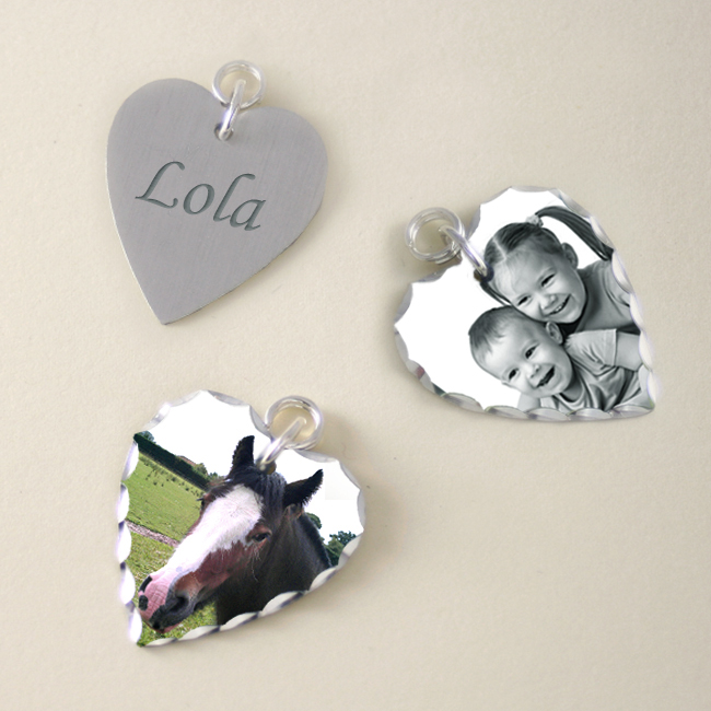 Charms with Photos and Engraving
