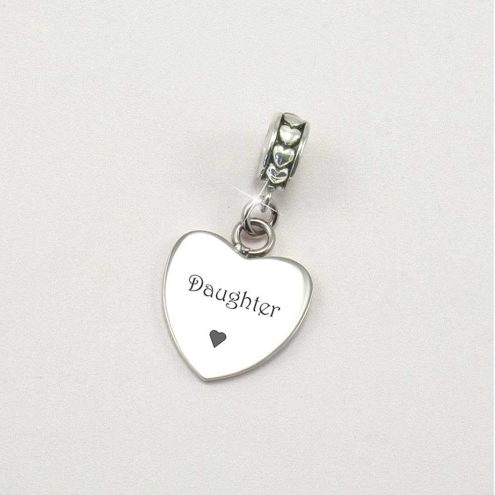 Daughter charms for Bracelets
