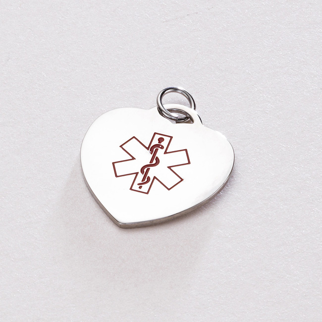 Medical Charms with Engraving
