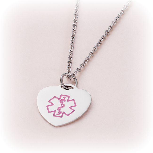 Medical Necklace with Engraving